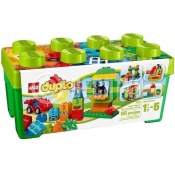 Пластмассовый конструктор LEGO Duplo Универсальная коробка Механик (10572)