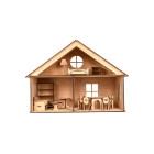"""Деревянный игровой кукольный домик """"LOL HOUSE"""""""