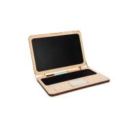 """Деревянный игровой ноутбук для рисования мелом """"Woody notebook"""""""