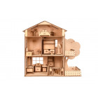 """Деревянный игровой кукольный домик с мансардой """"TREE HOUSE"""""""