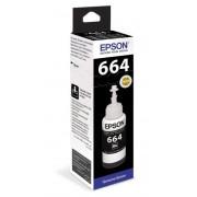 Водорастворимые чернила для принтера Epson C13T66414A Black для Epson L312, L350, L355, L362, L366, L456, L550, L555, L1300